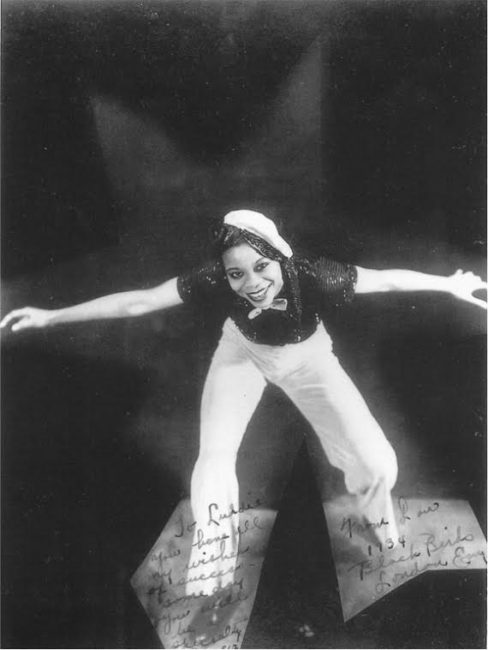 black and white photo of Louise Madison in 1943.